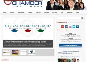 Christian Chamber Of Commerce Web Site