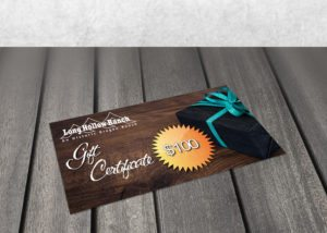 Long Hollow Ranch Gift Certificate