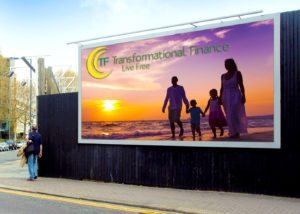 Transformational Finance Billboard Promotion